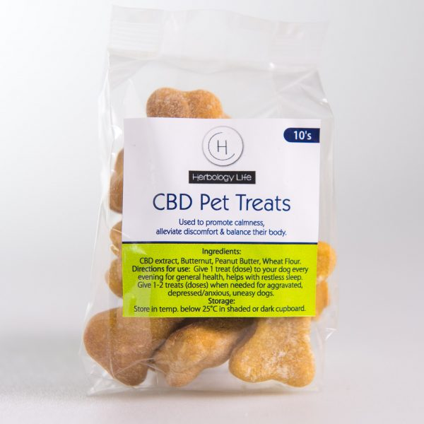CBD Gluten Free Dog biscuits
